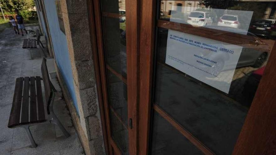 El museo del tren continúa cerrado, pendiente de renovación