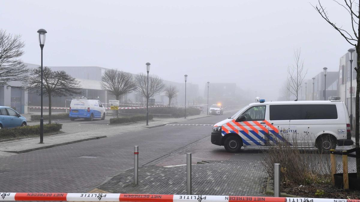 Lugar donde se ha producido la explosión.