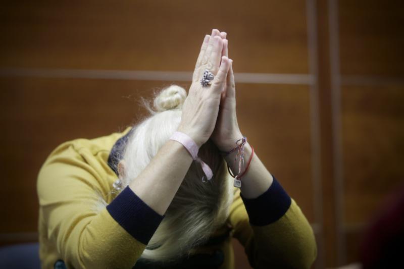 El Diputado del Común recibe a una mujer maltratada