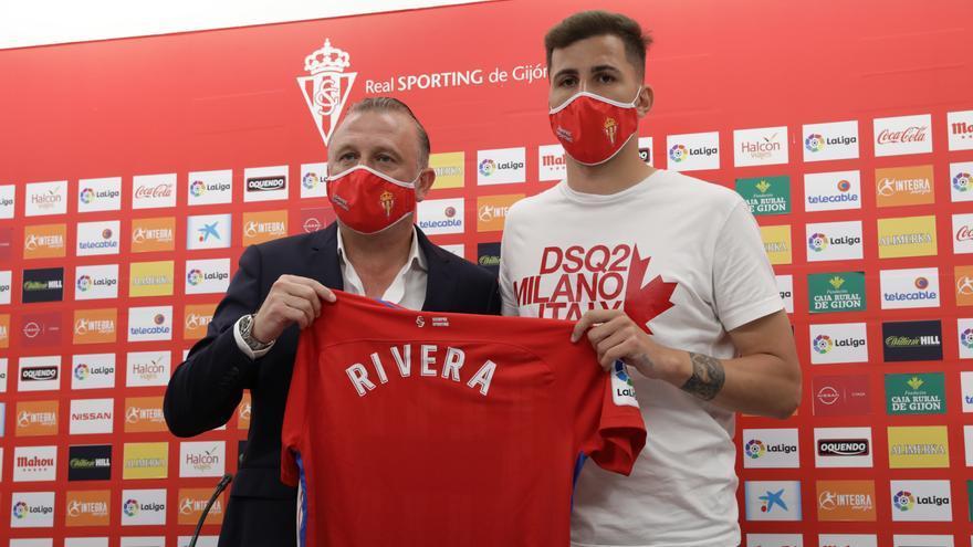 """Christian Rivera, nuevo jugador del Sporting: """"Ojalá aquí encuentre la estabilidad que me faltó"""""""