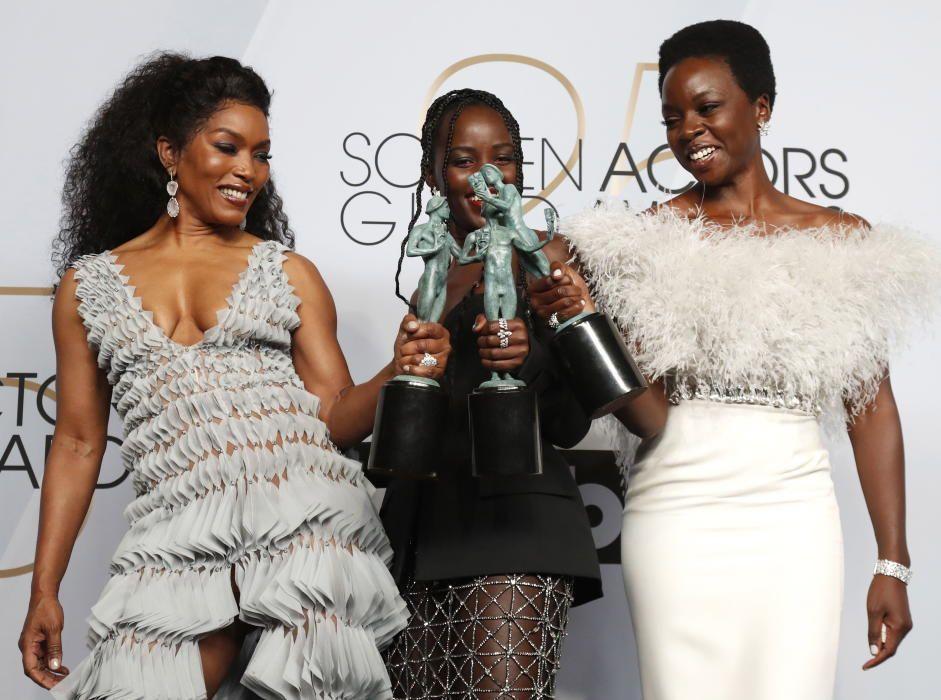 "Premios del Sindicato de Actores: Angela Bassett, Lupita Nyong'o y Danai Gurira, de ""Black Panther"""