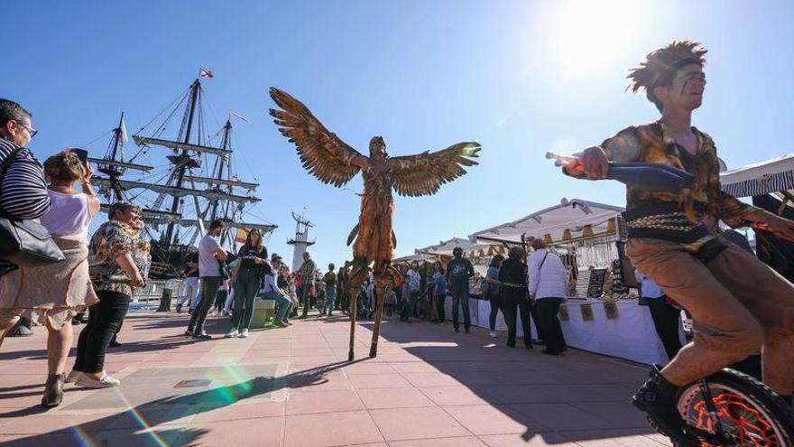 Escala a Castelló: Nao Victoria y Galeón Andalucía desfilarán en PortCastelló en octubre