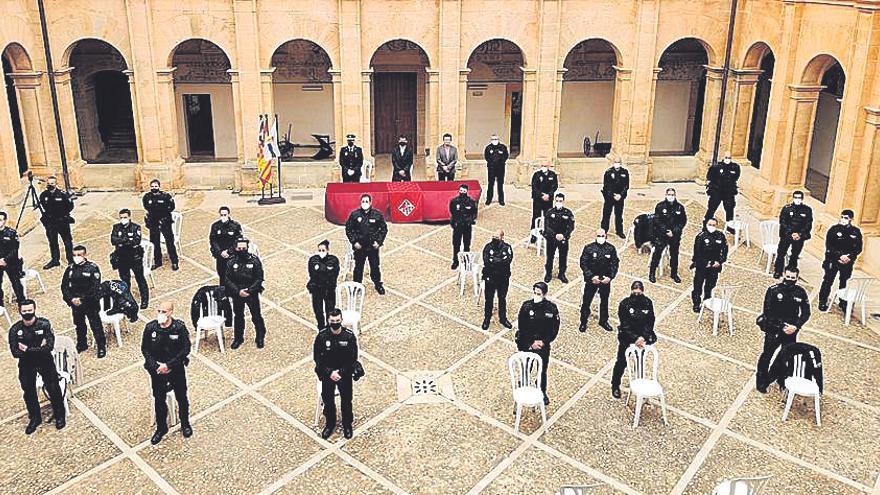 Toman posesión 31 policías locales de Llucmajor