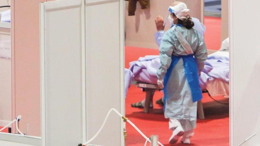 La lucha contra la pandemia pone en valor el compromiso de la enfermería