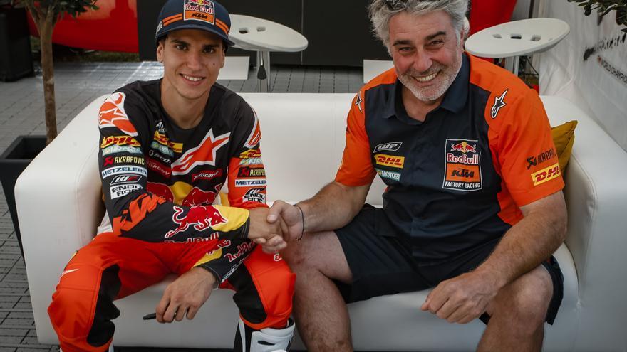 El pilot surienc Josep Garcia renova per dues temporades més amb KTM