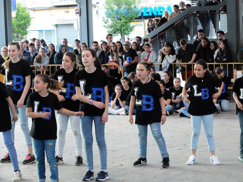 Cinquè Funk & Fires a Plaça Catalunya