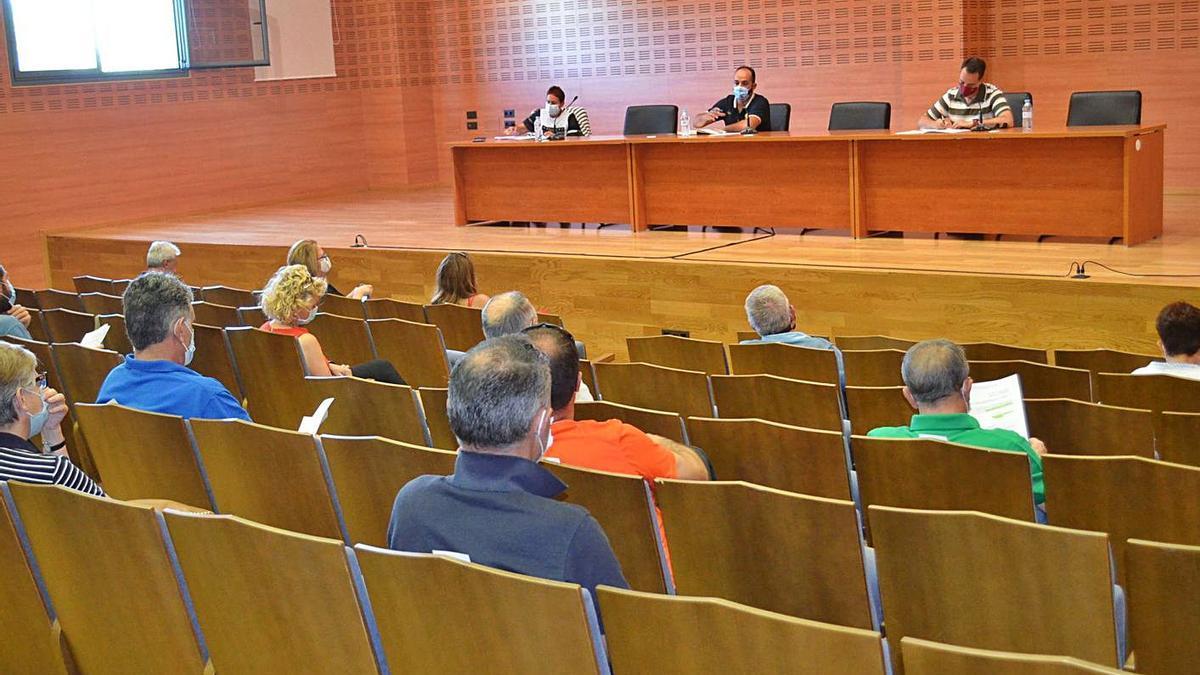 Última asamblea de la Mancomuniadd de la ETAP Benavente y Los Valles.   E.P.