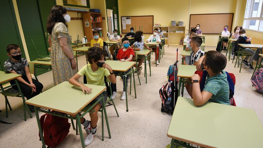 Los colegios del área sanitaria suman 25 casos activos de COVID dos semanas después del inicio del curso