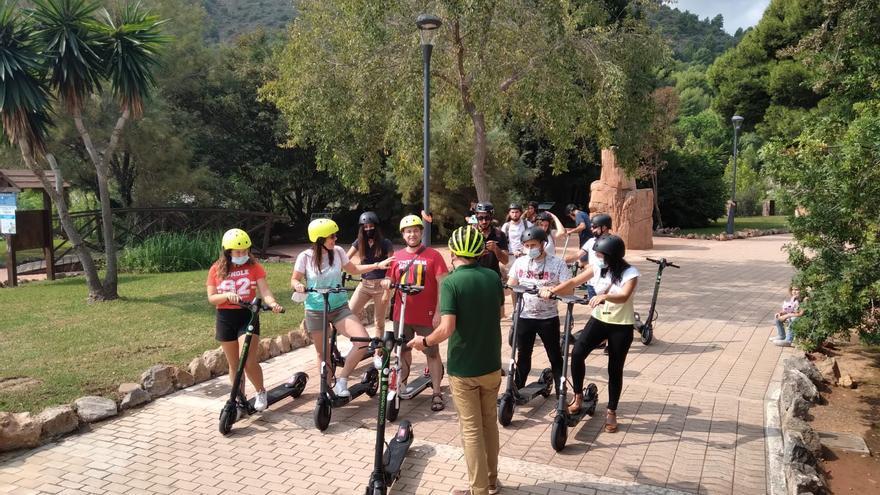 Un municipio de Castellón ofrecerá visitas turísticas guiadas en patinete eléctrico
