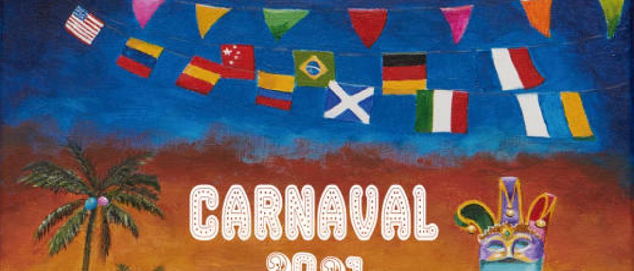Los 10 carteles finalistas del concurso para elegir el cartel del Carnaval 2021