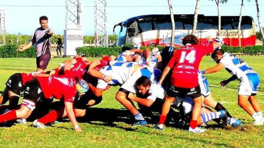 Al Inter Rugby Cullera se le atraganta el partido frente al filial del CAU Valencia