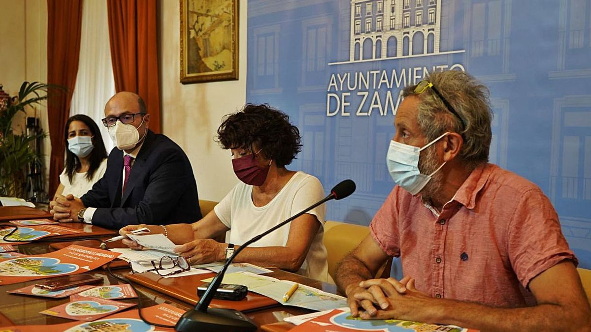 Judith Castro, Alfonso Ibáñez, Concha Rosales y Romualdo Fernández.