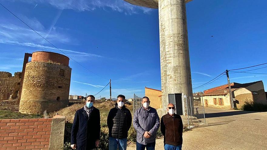 La reparación del depósito de Villalpando contará con una inversión de 70.000 euros