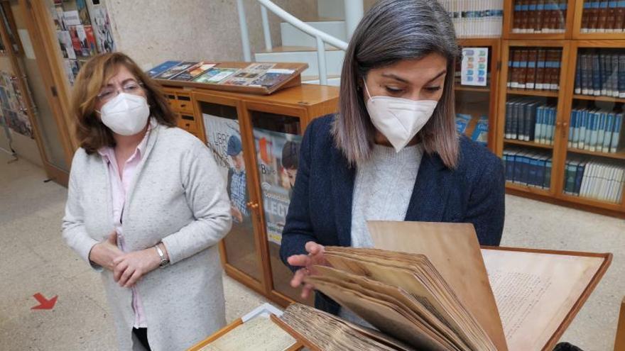 Cangas cobija el Códice Calixtino y los manuscritos de Rosalía