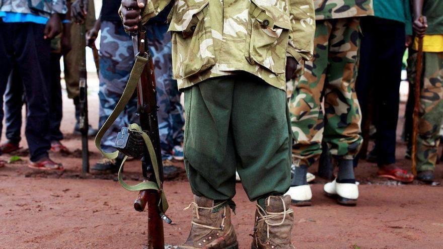 Aragón colabora para sacar a 68 niños soldados de la guerra en Sudán del Sur