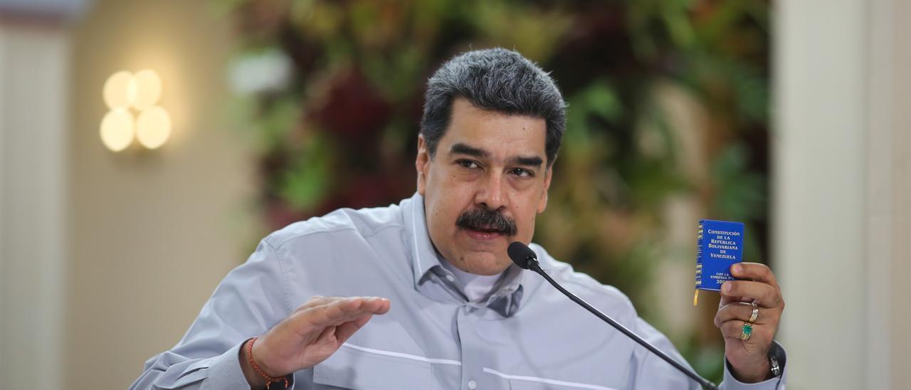 Nicolás Maduro, en una imagen de archivo.