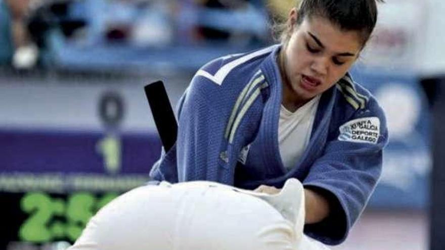 El judo femenino triunfa en Galicia