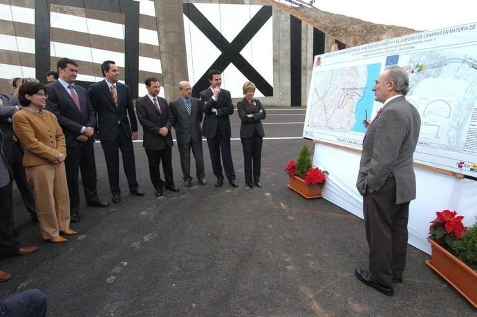 INAUGURACION DE LOS TUNELES DE SAN JOSE