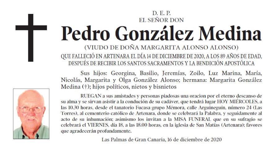 Pedro González Medina