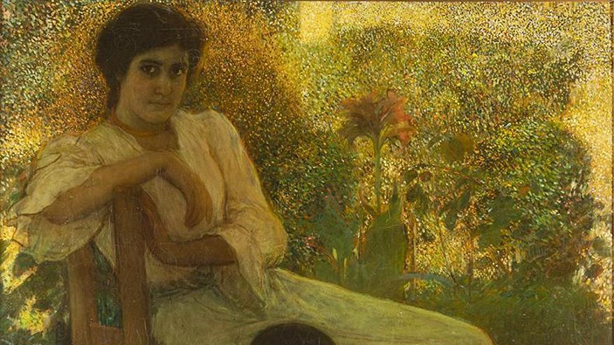 Fernando Durán subasta 'Aprendiendo a leer', una importante obra de Romero de Torres