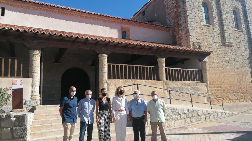 La Junta invierte cerca de 250.000 euros en la restauración de la iglesia de Abezames