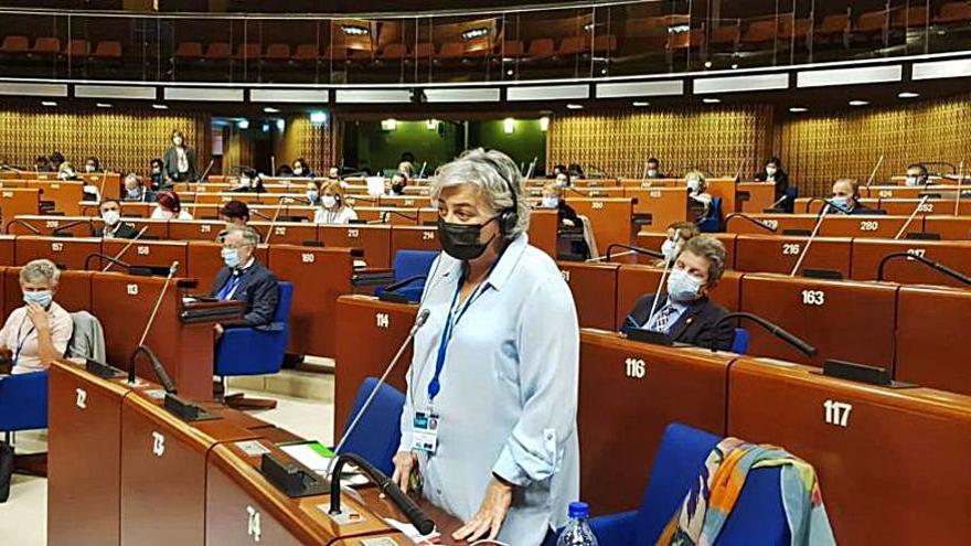 La Alcaldesa, en el congreso del Poder Local de Europa