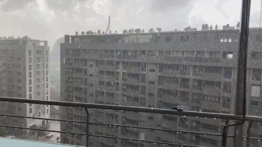 El mes de noviembre más lluvioso en la ciudad en 64 años