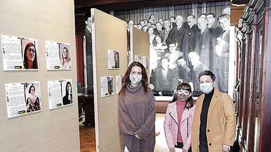 Inauguración de la muestra 'Referentes Trans' en la Casa Museo Casares Quiroga