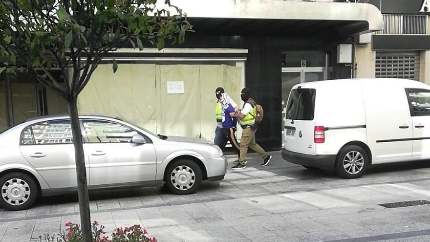 Ocho detenidos en una macrorredada contra el tráfico de drogas en Vigo