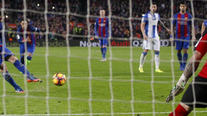 Messi salva al Barça en el darrer sospir