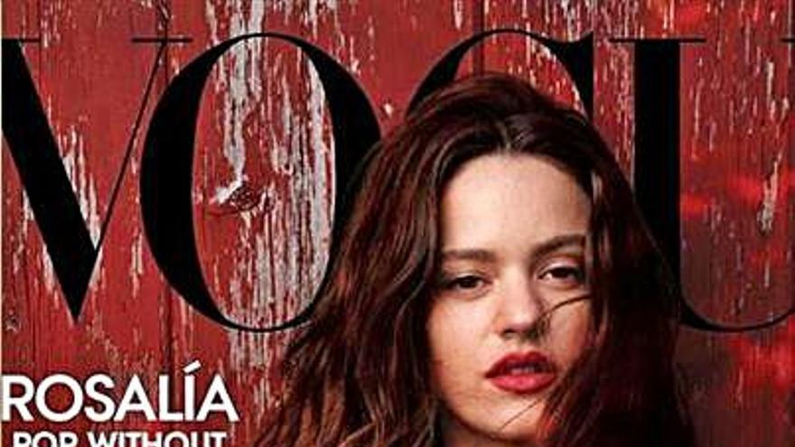 """Rosalía, llega a la portada de """"Vogue"""" en Estados Unidos fotografiada por Annie Leibovitz"""