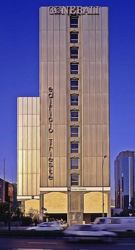 El edificio Trieste, en Madrid.