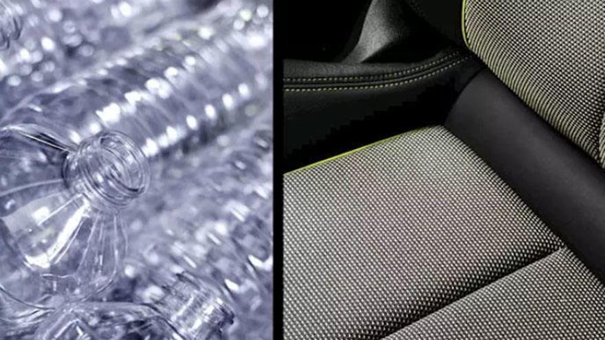 Audi apuesta por una tapicería producida con 45 botellas de plástico para el nuevo A3