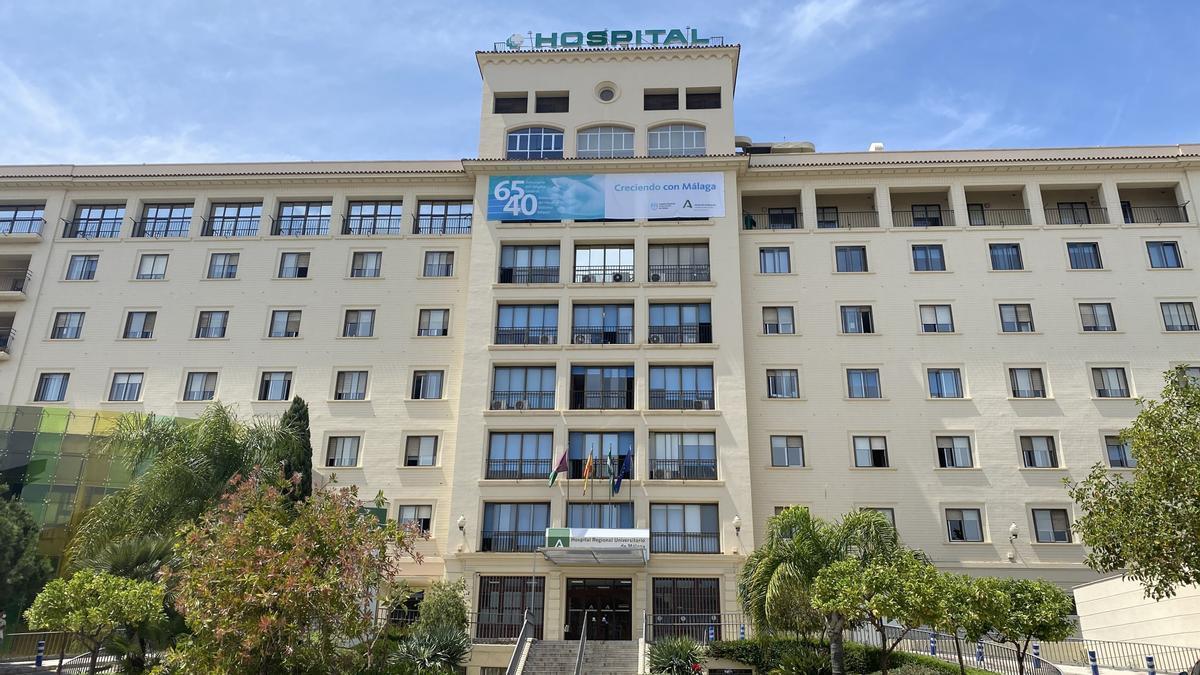 Façana de l'Hospital Regional de Màlaga