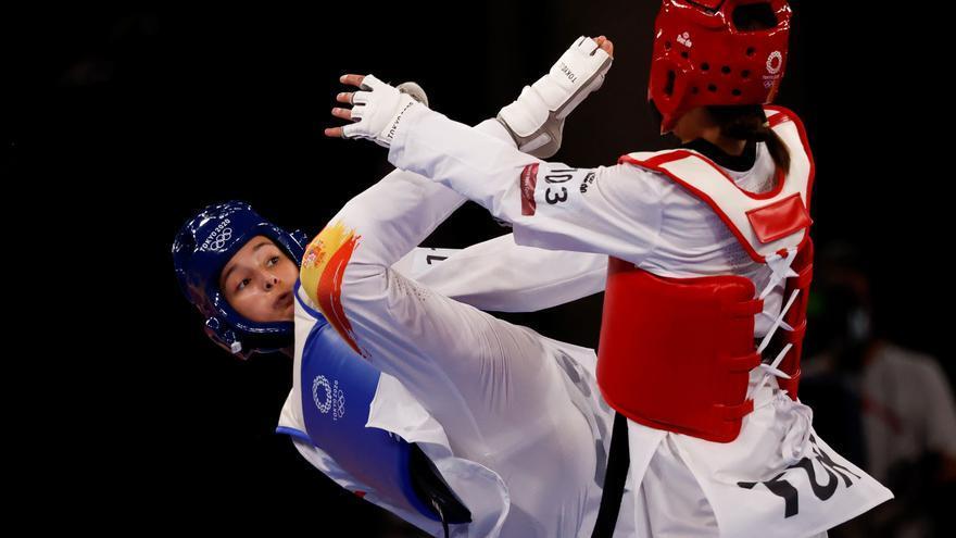 Adriana Cerezo, plata en Taekwondo, logra la primera medalla para España