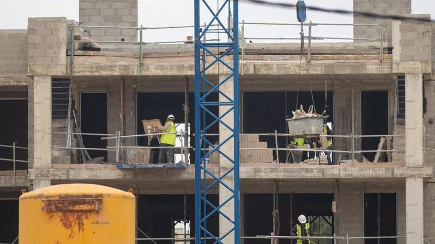 Trotz der Coronavirus-Krise gehen auf Mallorca die Bauarbeiten weiter