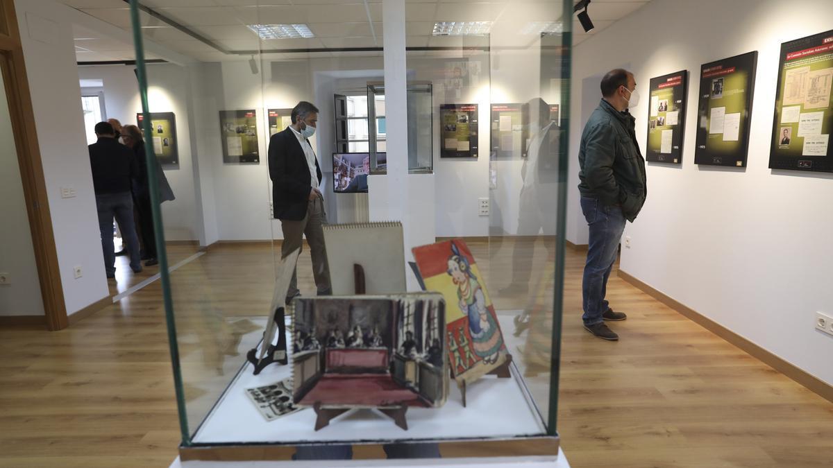 La exposición, en el Museo de la Historia Urbana
