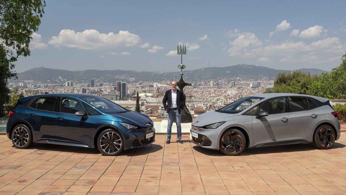 Cupra presenta en Barcelona su primer coche 100% eléctrico: el Born