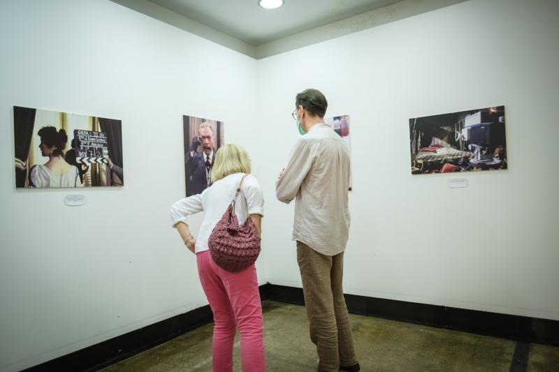 Exposición de fotografías de P.A. Martínez Parra 'La tele de antes'.