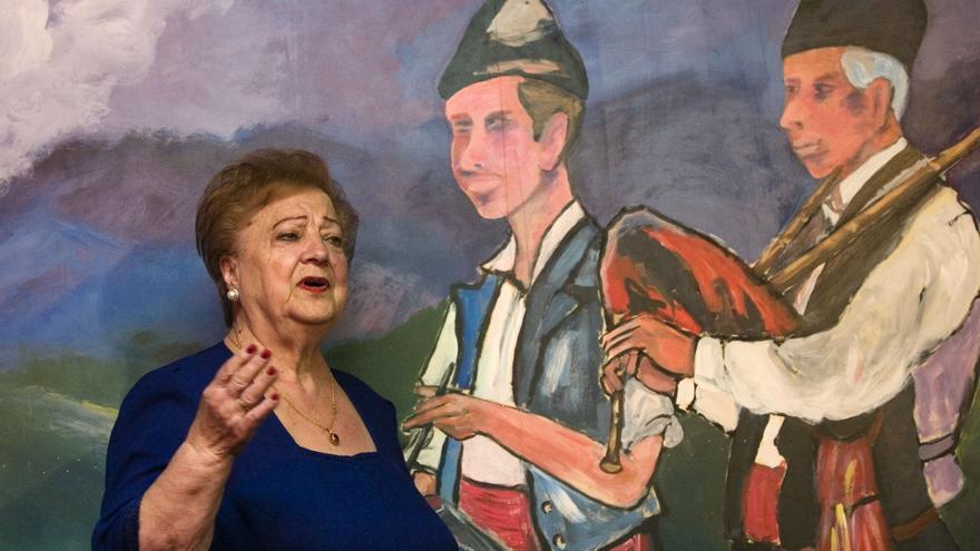 La vida de la gran dama de la canción asturiana, en imágenes
