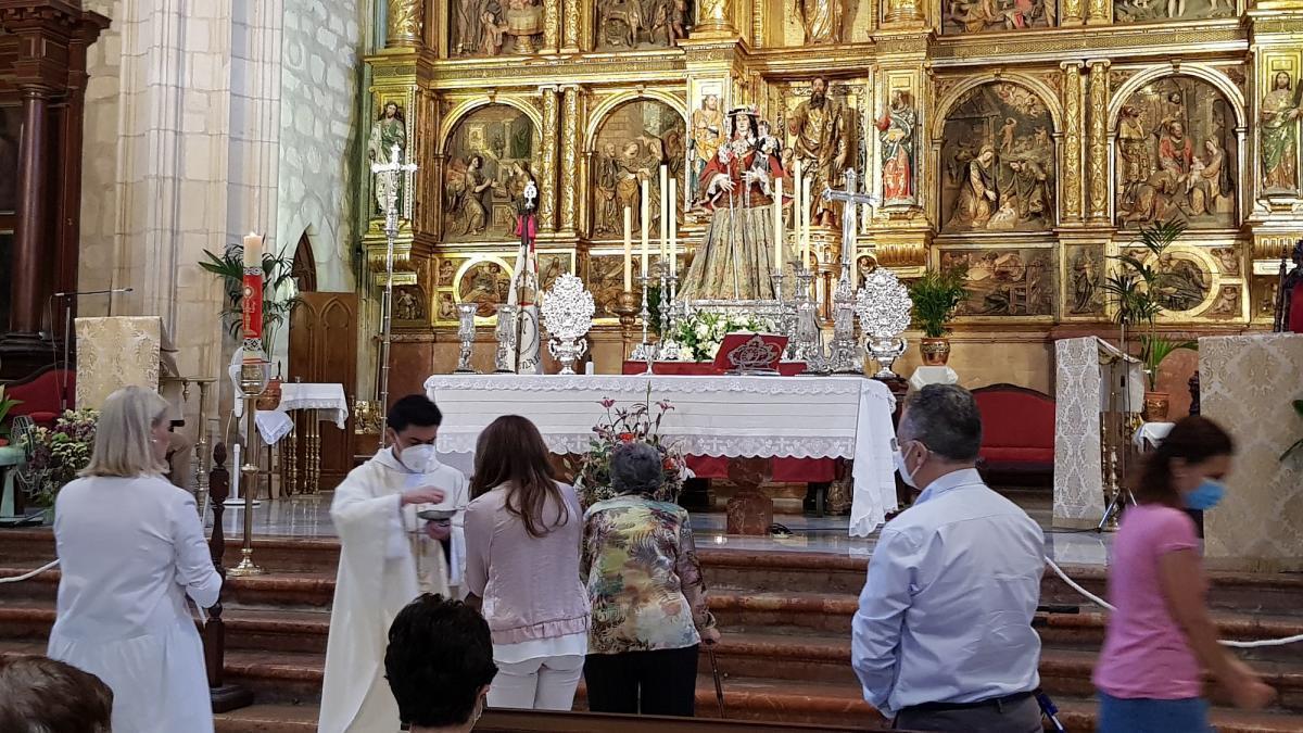 San Mateo acoge este fin de semana distintos cultos en honor de la Virgen de Araceli