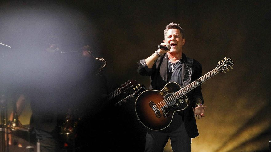 Alejandro Sanz aplaza sus conciertos en La Palma y Tenerife a julio del 2022