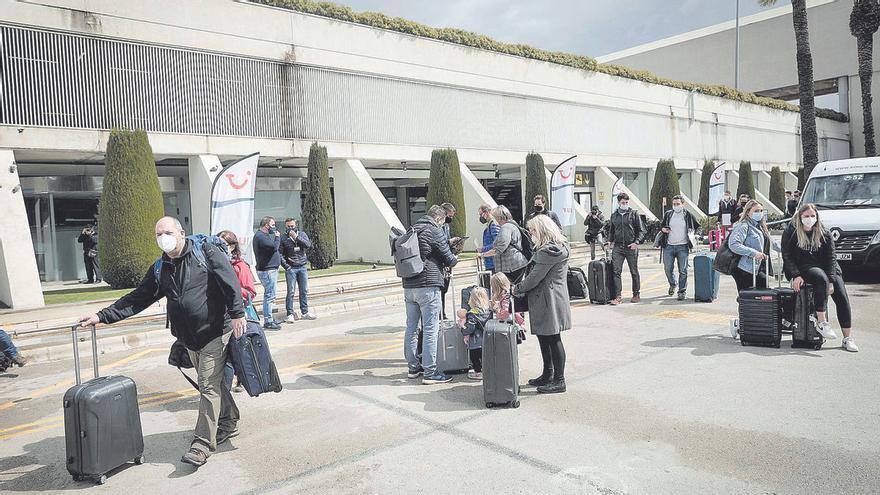 Ganz schön viel Betrieb am Wochenende am Flughafen von Mallorca