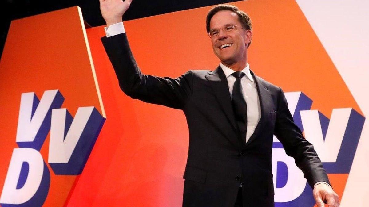 El primer ministro Rutte vuelve a ganar las elecciones en los Países Bajos