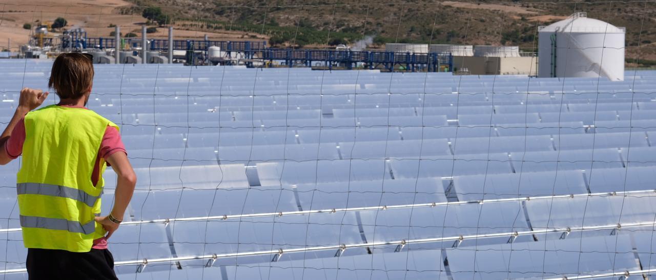 """El """"boom"""" de las energías renovables en el Vinalopó."""