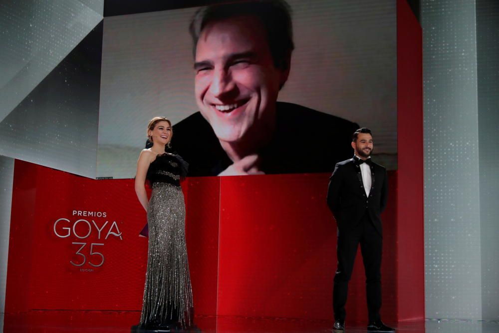 Spanish Film Academy's Goya Awards ceremony in ...