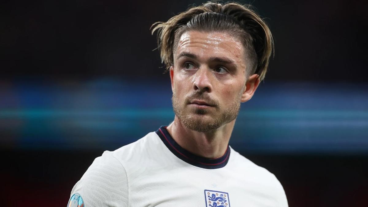 Jack Grealish, con Inglaterra, en la pasada Eurocopa