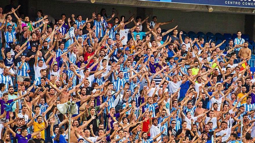 El Málaga CF ya supera los 7.000 'Fieles Malaguistas'
