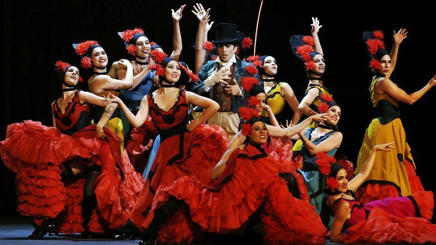 Vestuario canario en 'La Bella Otero'