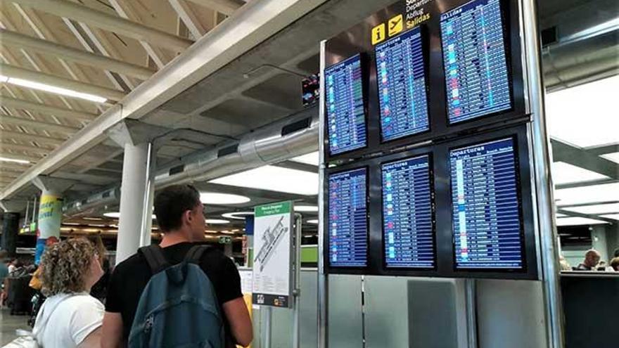 Los incidentes con pasajeros conflictivos se desploman en una Mallorca sin turismo